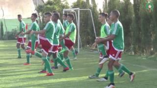 استعدادات المنتخب الوطني لاقل من 17 سنة لمباراة غينيا