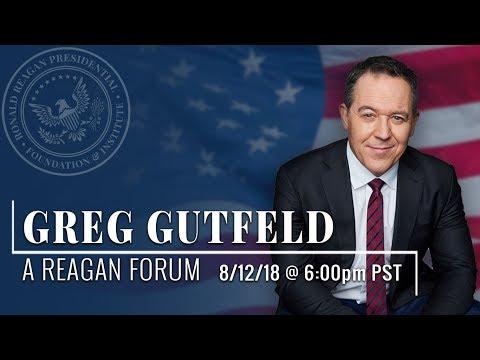 A Reagan Forum with Greg Gutfeld — 8/12/2018