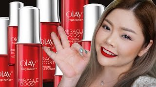 Review: Olay Regenerist Miracle Boost Youth Pre-Essence ทำไมต้องมี Zero-Step Skincare?