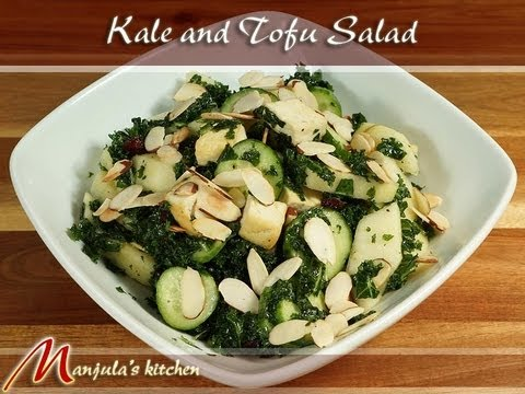 Kale and Tofu Salad by Manjula