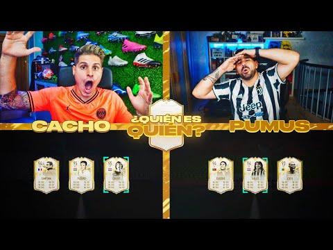 QUIEN ES QUIEN CON PLAYER PICKS DE ICONO MOMENTS VS PUMUSCOR!! | FIFA 21