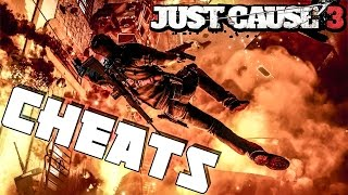 Just Cause 3 Cheats / Trainer+15 - Infinite Tethers - God Mode