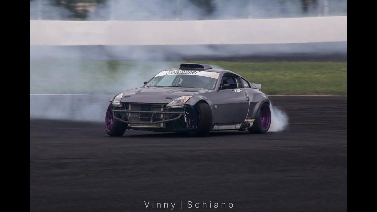 2 LS1 Nissan 350Z drifting RAW sound - YouTube