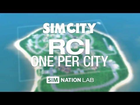 SimCity Experiment - R, C, I: One Per City