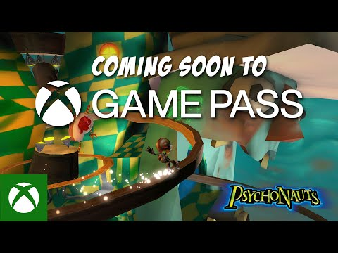 Psychonauts Coming Soon to Xbox Game Pass