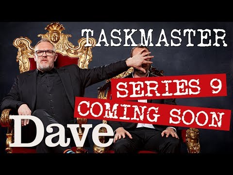 Taskmaster SERIES 9 Contestant REVEAL | Coming Soon | Dave