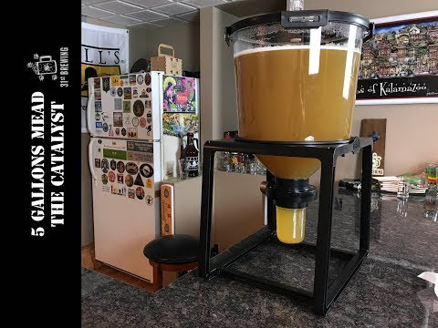 Mead Making in The Catalyst Fermentation System Part 1