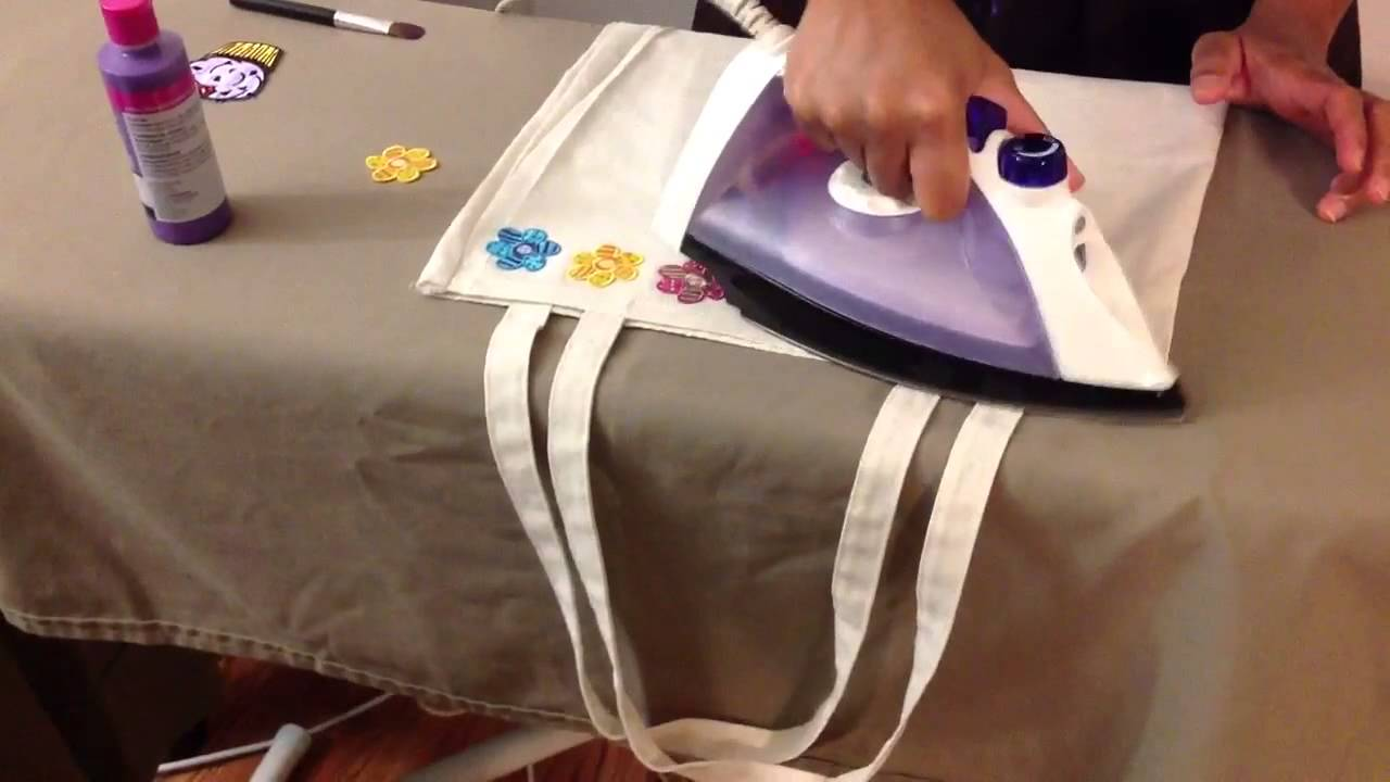 CREATE YOUR OWN CANVAS BAG - YouTube