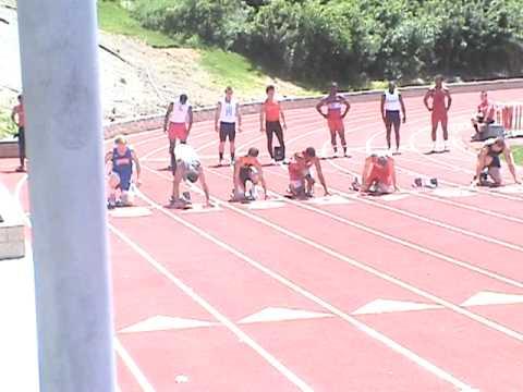 Brian Skinner Frosh/Soph 100m& Hayden Raye 100m Va...