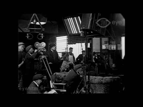 1919 - Behind the Scenes of Movie Production in Hollywood (speed corrected w/ music)