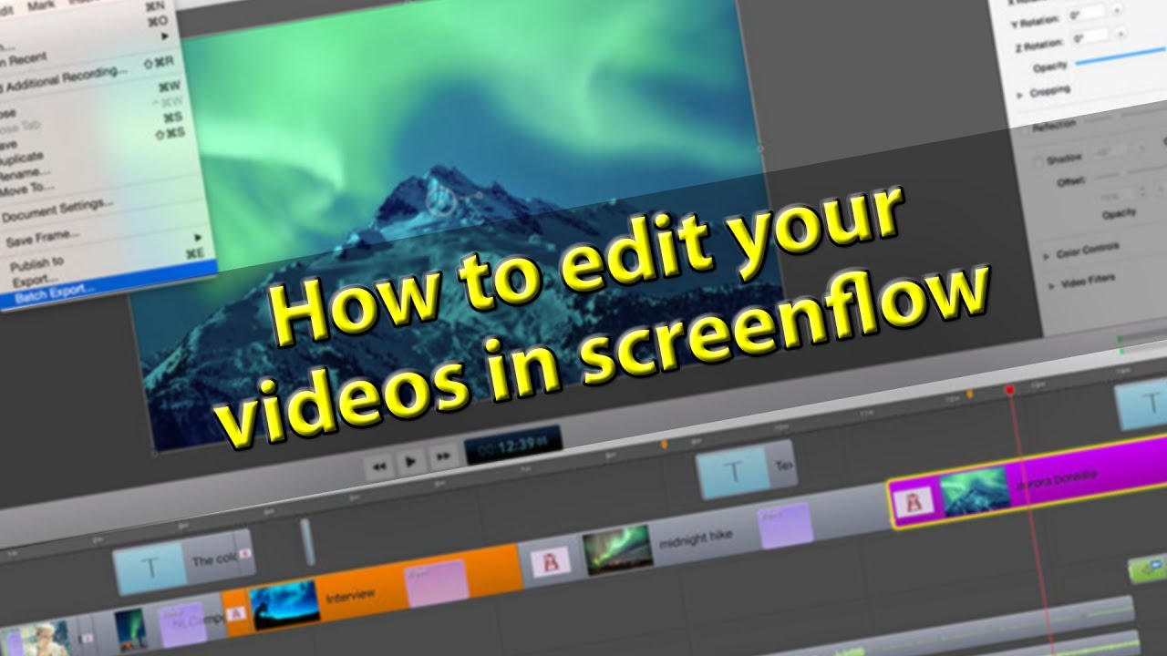 how to cut and edit youtube videos
