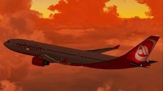 FSX - Crimson Skies in Berlin
