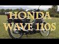 honda wave 110 s test