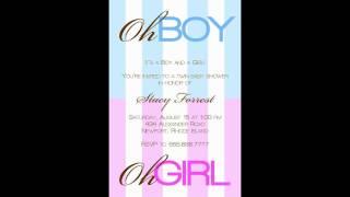 Baby Shower Invitations Templates - babysinvitations.com | Keniya Lim