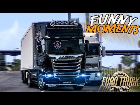 Euro Truck Simulator 2 Multiplayer Funny Moments & Crash Compilation #95