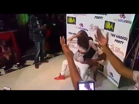 Noti Flow Shaking her Big Bum for a reveller in a popular club