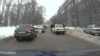 авария  -  паровозик на Астраханской(, 2011-01-29T15:14:22.000Z)