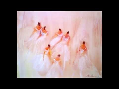 Canadian Fine Art...Ballet & Angel Paintings-original composition for Classical Guitar & Bassoon