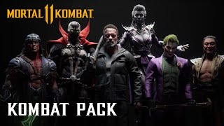 Mortal Kombat 11 Kombat Pack - Official Roster Reveal Trailer