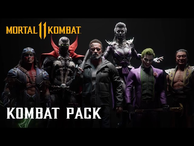 Mortal Kombat 11 Kombat Pack – Official Roster Reveal Trailer