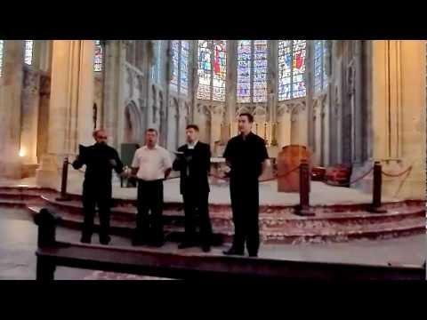 Doros Russian male voice choir - Carcassonne, South France