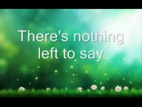 Secondhand Serenade - Nothing Left To Say ( Lyric )