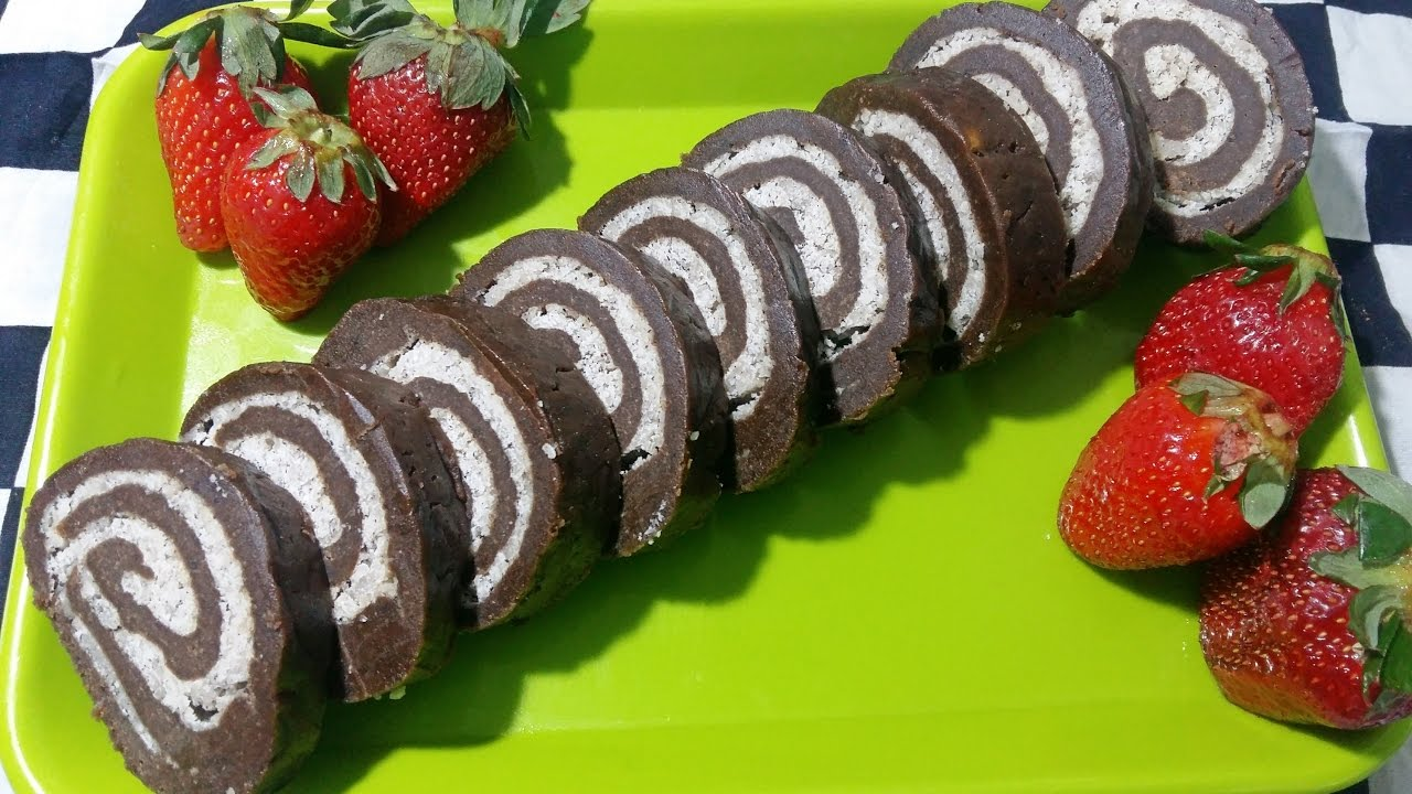 No bake swiss roll cookies quick easy chocolate recipe easy no bake swiss roll cookies quick easy chocolate recipe easy dessert recipes forumfinder Choice Image
