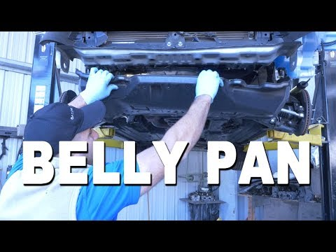 How To Remove and Replace a Belly Pan Cover – 2015 Subaru Forester