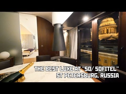 "The Best Luxe Suite at ""SO/ Sofitel"" Hotel. St Petersburg, Russia"