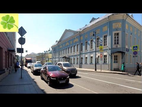 Москва.. Прогулка по улицам Сретенка и Большая Лубянка 24.04.2019