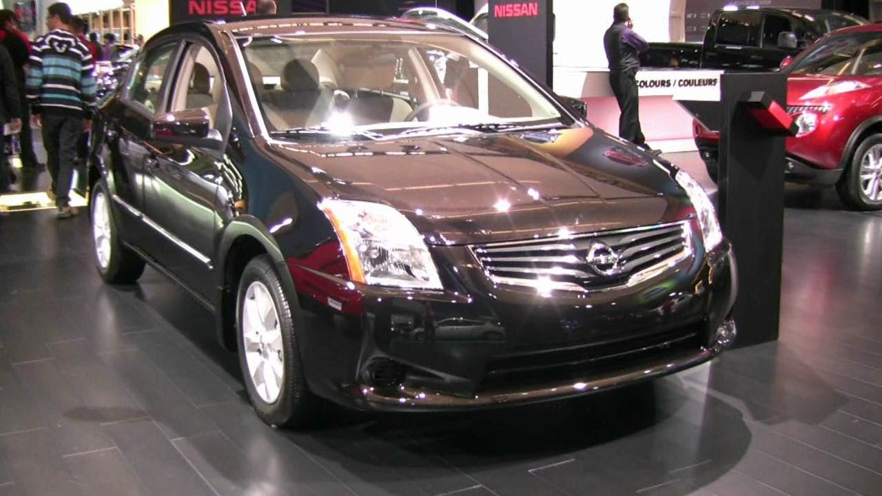 2012 nissan sentra exterior and interior at 2012 montreal. Black Bedroom Furniture Sets. Home Design Ideas