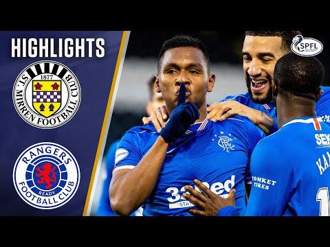 St Mirren Rangers Goals And Highlights