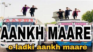 AANKH MAARE o ladka aankh maare|| TERE MERE SAPNE|| DANCE CHOREOGRAPHY|| LAVISH MJKK