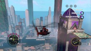 Saints Row The Third: List of helicopters, fighter jets, flying motorbikes+Radio Control