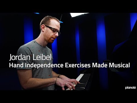 Hand Independence Exercises Made Musical - Piano Live Lesson (Pianote)
