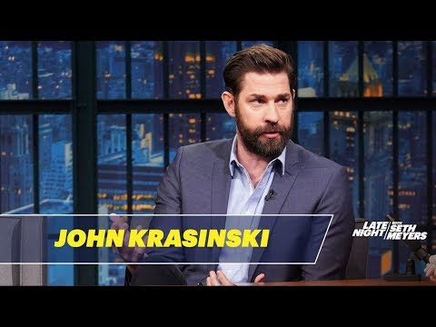John Krasinski Couldn't Believe Stephen King's Reaction to A Quiet Place