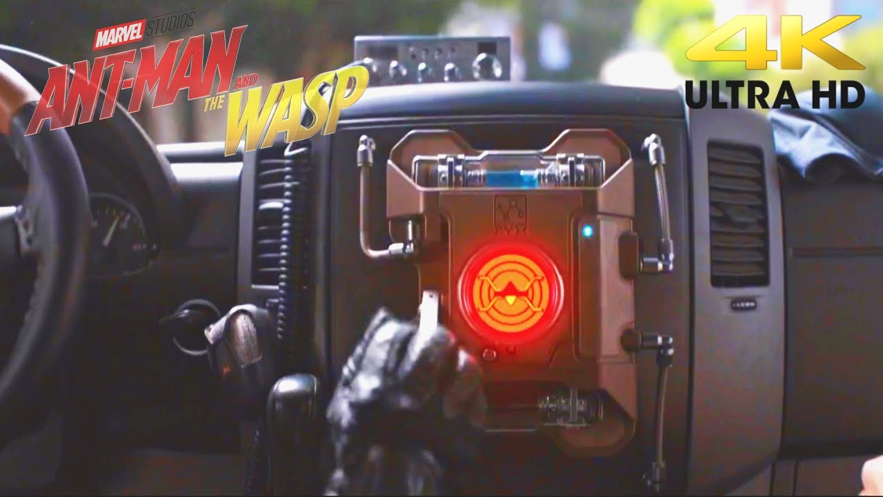 Download Ant-Man and The Wasp Car Chase Scene   Part 1   Ultra HD