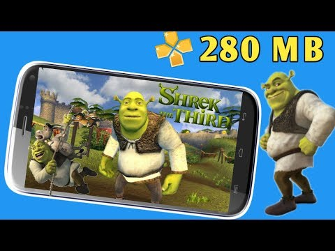 280 MB Shrek The Third Adventure Game PSP Highly Compressed Play Android Phone
