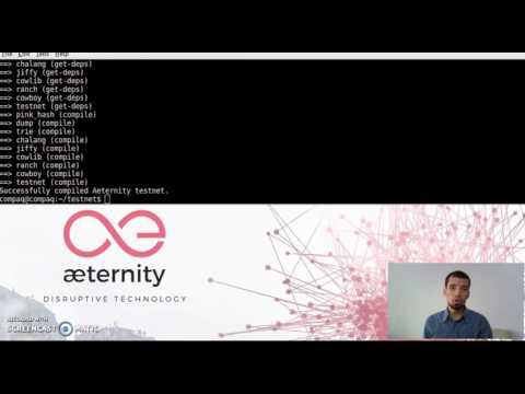 æternity Blockchain Testnet - instalación de nodo y minería [ENG-SUB] aeternity