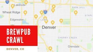 Brewpub Crawl Denver, CO - Na żywo