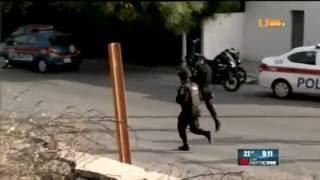 Video de la balacera registrada ayer por la mañana en San Nicolás