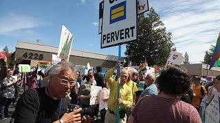 Protest against Verity Baptist Church in Sacramento