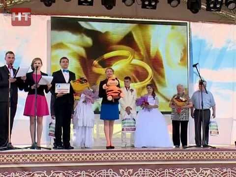В субботу Великий Новгород отметил свой 1156 й  день рождения