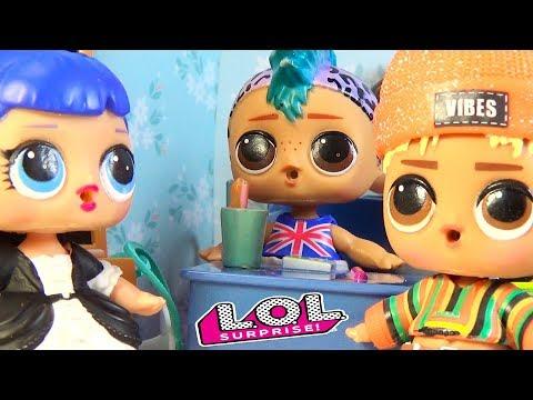 Мультик Куклы ЛОЛ сюрприз НОВЕНЬКИЙ В КЛАССЕ МАЛЬЧИК SUNNY мультики Lol Dolls
