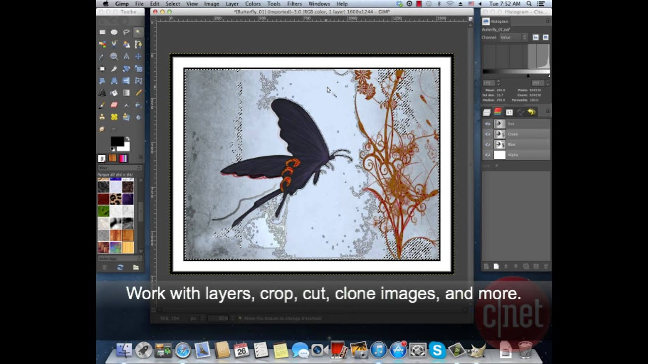 GIMP for Mac - Create and edit images and photos - Download Video Previews