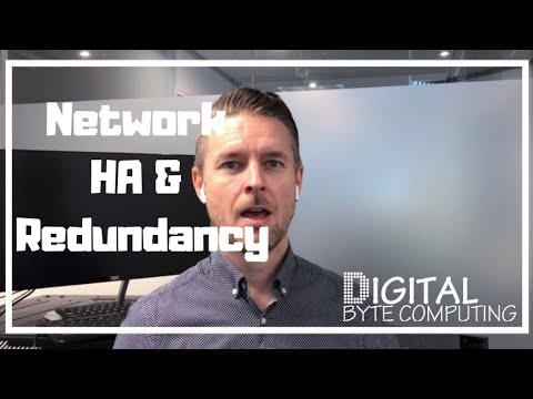 HOW TO SETUP YOUR IT Network + Servers With HA | High Availability & Redundancy