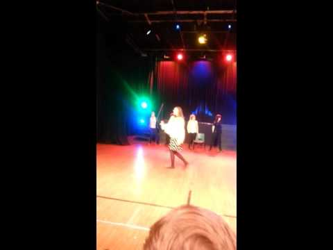 Nathaniel Adams and Jasmine Cooper performance at Groby College.