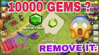 WHAT IS INSIDE THE WITCH'S HAT (CLASH OF CLANS) BY LET'S DO IT TRY IT.