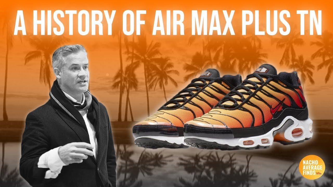history of air max plus