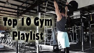 Best Hip Hop Gym Playlist - Top 10 Workout PR Songs